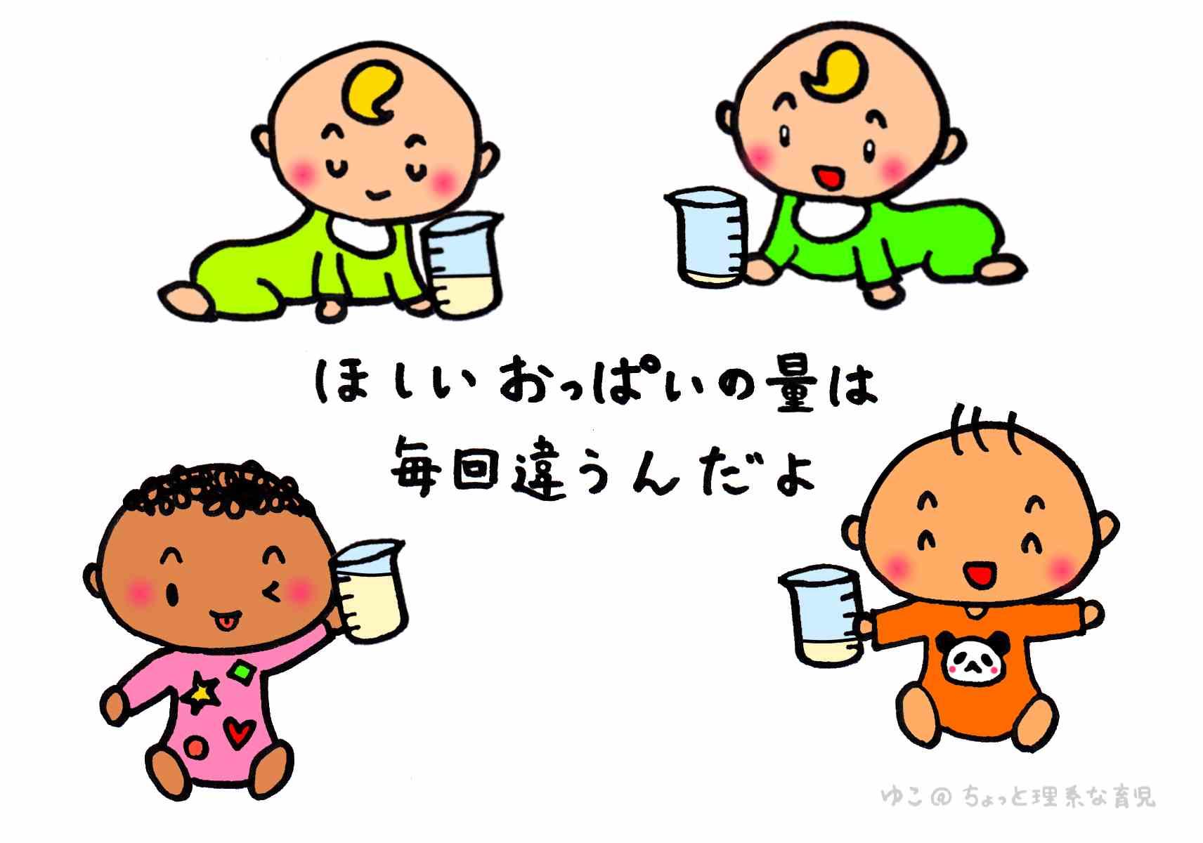 量 新生児 哺乳