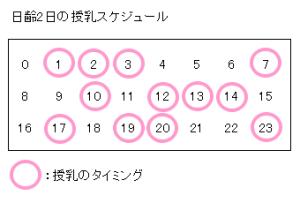 jyunyu schedule